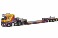 WSI Ruttle Plant Hire  4-axle Euro-PX Low Loader with Mercedes Benz Arocs 8x4